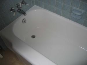 Bath tub refinishing
